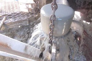 Water well pump inspection and water quality testing