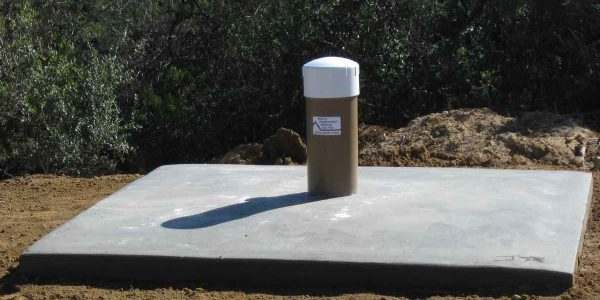 Drilled water well in Topanga, CA